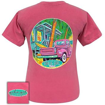 Girlie Girl Originals Preppy Beach Shack Comfort Color T-Shirt