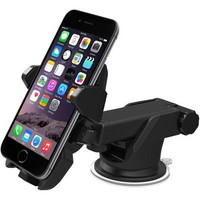 iOttie Easy One-Touch 2 Car Mount Holder for iPhone 6 (4.7)/Plus (5.5)/5S/5C, Samsung Galaxy S5/S4/S3/Note 4/3, Google Nexus 5/4, LG G3 - Walmart.com