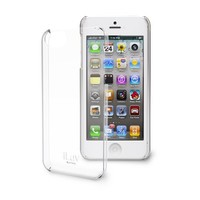 iLuv ICA7H304CLR Gossamer Clear Hardshell Case for Apple iPhone 5 and iPhone 5S - 1 Pack - Retail Packaging - Clear