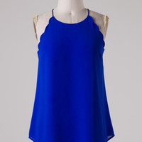 Long Weekend Tank - Blue