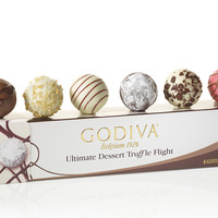 Shop Godiva's Ultimate Chocolate Dessert Truffles Flight