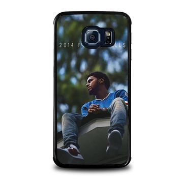 j cole forest hills samsung galaxy s6 edge case cover  number 1