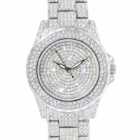 'Crystallize' Iced Watch