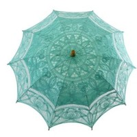 Adult Battenburg Lace Parasol