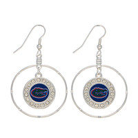 University of Florida Gators Logo Earrings