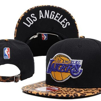 PEAPON Los Angeles Lakers New Era NBA 9FIFTY Cap Black-Camouflage