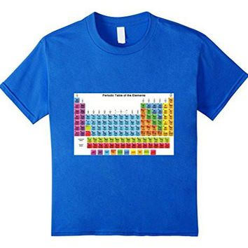 Periodic Table T Shirt Science Chemistry Elements Atom