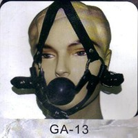 GA-13 Harness gag, ball gag, mouth plug gagged toy Oral Fixation mouth stuffed adult sex toy