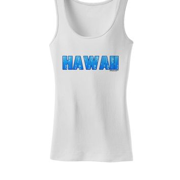 Hawaii Ocean Bubbles Womens Tank Top by TooLoud