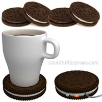 Cookie Shaped USB Powered Coffee Cup Warmer