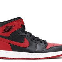 "Air Jordan 1 Retro High Og ""bred"" - Air Jordan - 555088 023 - black/varsity red-white 