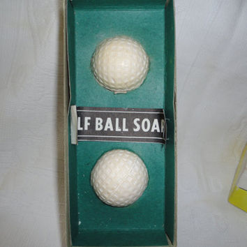Golf Balls For Dirty Players Novelty Soap Golf Balls Gag Gift Secret Santa Gift Vintage Original Box