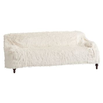 Dorm Faux-Fur Furlicious Sofa Slipcovers
