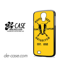 Hufflepuff Quidditch For Samsung Galaxy S4 Case Phone Case Gift Present YO