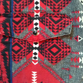 Wrangler tribal shirt