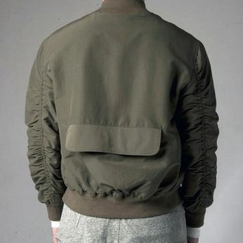 Indie Designs Custom Made Fear of God Bomer MA-1 Jacket