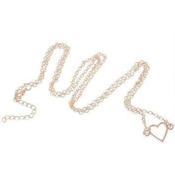 ac DCCKO2Q New IPC Sexy Women Waist Chain Sweet Heart Star Belly Aolly Plated Personality Body Fashion Jewelry