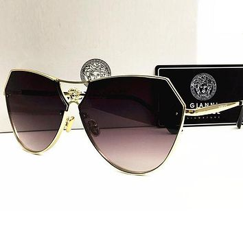 VERSACE Trending Women Men Summer Sun Shades Eyeglasses Glasses Sunglasses Purple I