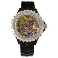A leopard Stance Watch