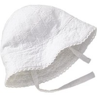 Eyelet Bonnets for Baby