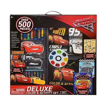 Disney Pixar Cars 500-Piece Art Set in a Box