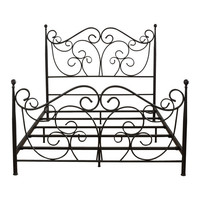 Alosio Panel Bed