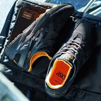 Asics Tiger x PORTER GEL-KAYANO TRAINER - BLACK/BLACK