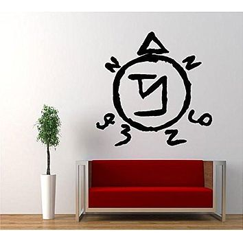 Angel Sigil Banish Symbol Supernatural Vinyl Sticker Decal for Car Windows Truck Room