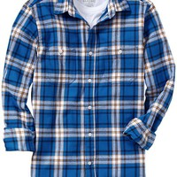 Men's Regular-Fit Flannel Shirts
