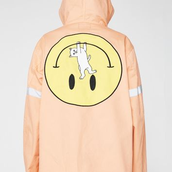 Everything Will Be Ok Cotton Fisherman Jacket