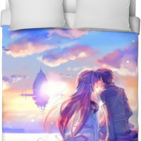 SAO Asuna And Kirito Bed Sheet