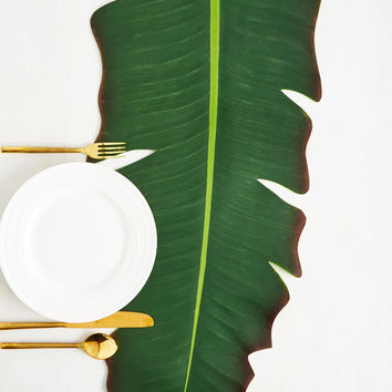 Frond in a Million Table Runner | Mod Retro Vintage Kitchen | ModCloth.com