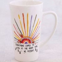 Everything Will Be Okay Latte Mug