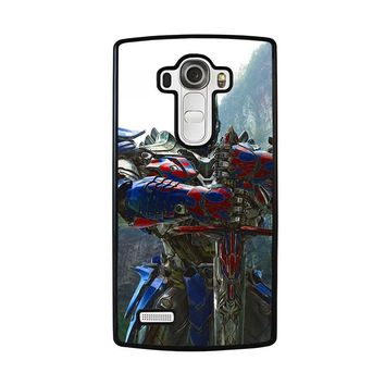 NEW OPTIMUS PRIME TRANSFORMERS LG G4 Case Cover