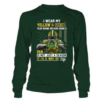 North Dakota State Bison - Wear My Color Year Round - T-Shirt - Officially Licensed Fashion Sports Apparel
