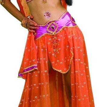 Womens Sexy Bollywood Dancer Exotic Indian Costume