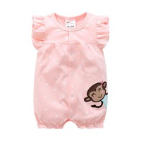 NewBorn/Baby Clothes Cotton Baby Girl Clothes  Summer Infant Girl Dress Jumpsuits Kids/boys/Costume For Newborn Baby Girl Romper