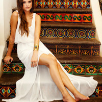 White Kendall Maxi Dress by Show Me Your Mumu