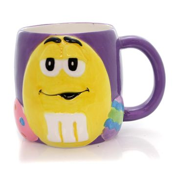 Licensed M & M Easter Eggs Mug Mug / Coffee Cup