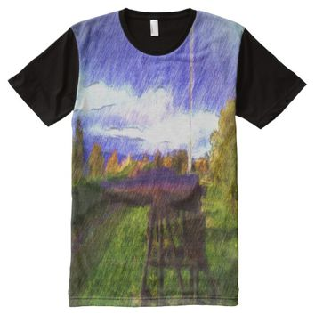 The canon All-Over print T-Shirt