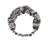 TRIBAL PRINT TWISTED HEAD WRAP