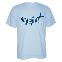 TARPON T-SHIRT IN CAROLINA BLUE BY YETI