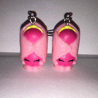 Shopkins Foodie Earrings - Danni Danish - repurposed toys