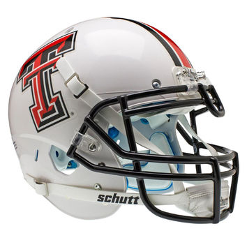 Texas Tech Red Raiders NCAA Authentic Air XP Full Size Helmet (Alternate White 1)