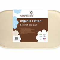Naturepedic Organic Cotton Bassinet Mattress - Oval