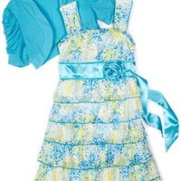 My Michelle Girls 7-16 Tiered Dress $40.60