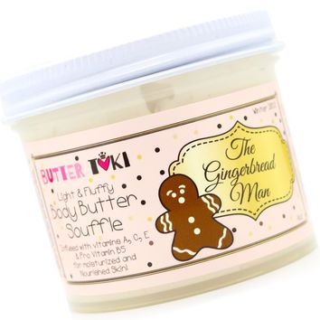 THE GINGERBREAD MAN Body Butter Soufflé Holiday Collection 2018