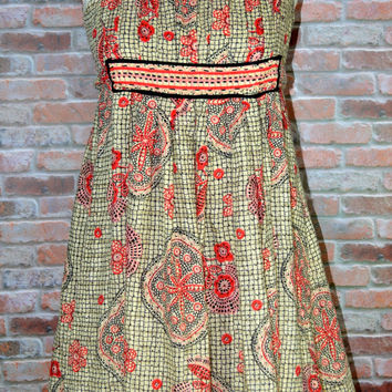 Anna Sui Size 0 Anthropologie Babydoll Dress