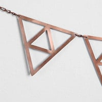Magical Thinking Metal Triangle Wall Banner - Urban Outfitters