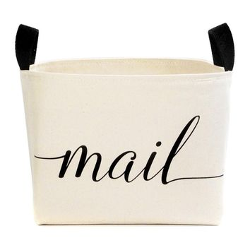 Mail Canvas Basket
